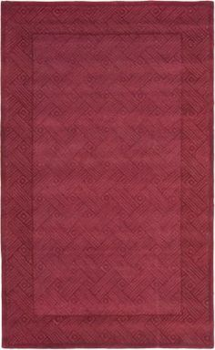 Safavieh Red Soho rug - Contemporary Rectangle x Contemporary Rugs, Soho, Area Rugs, Pure Products, Foyer, Pattern, Red, Design, Rugs