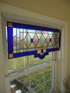 Now I need to find some old stained glass windows for my house.  Perfect for my living room