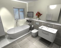 Photo Album For Website Freestanding Bath u Bauhaus Vanity Unit in Bathroom in Otford Kent Bathroom Design
