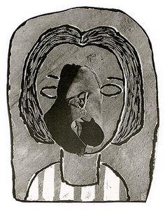 A Menina do Sapato 1949 | Geraldo de Barros matriz-negativo