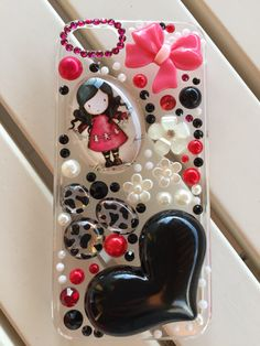 Carcasa para iphone 5/5s. Bling phone case!!  www.etsy.com/shop/myladiesandme  22€