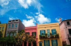 rainbow row - Charleston, SC