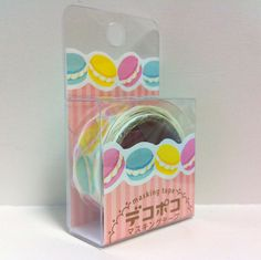 Kawaii Japan Deco Masking Tape:DecoPoco Series II Macarons