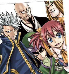 Le nouvel anime Fairy Tail, en illustrations |