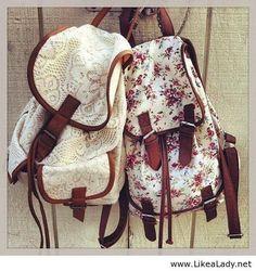 Floral backpacks - LikeaLady.net