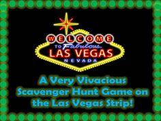 Las Vegas Strip Scavenger Hunt Game - Instant download