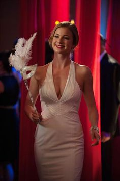 "Emily Smiles in Revenge Season 2, Episode 18, ""Masquerade"""