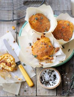 Gluten-free cottage cheese muffins | Jamie Oliver | Food | Jamie Oliver (UK) (Wow, gotta try this recipe!)