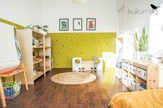 Pokój 4 latki w stylu Montessori