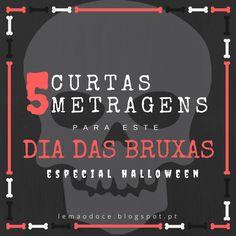 😈👽 Especial de Halloween  • 5 CURTAS-METRAGENS PARA ESTE DIA DAS BRUXAS 👹👻 http://lemaodoce.blogspot.pt/2016/10/especial-halloween-5-curtas-metragens.html