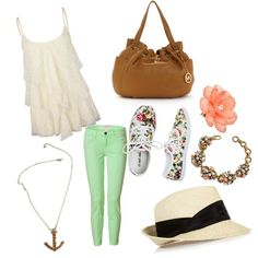 Summery Set, created by michelleburch on Polyvore