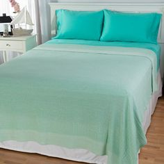 Cozelle® 100% Cotton Blanket w/ 300TC Four-Piece Sheet Set