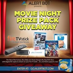 I just entered @AlertBot's contest to win a Fire TV Stick & 3 movies, like @FastFurious 8!  Enter at http://go.alertbot.com #giveaway https://wn.nr/nq7K4c