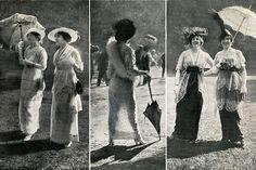 Chantilly fashions, 1914