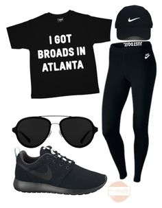 """I got broads in Atlanta"" by lexceptionallystyled on Polyvore featuring NIKE, Nike Golf and 3.1 Phillip Lim"