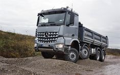 Mercedes Arocs: the quarry-yard specialist - Mercedes Benz Mercedes G Wagon, Mercedes Maybach, Cool Trucks, Big Trucks, Pickup Trucks, Semi Trucks, Used Trucks For Sale, Benne, Mercedez Benz