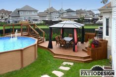 Patio Design - Construction & Design of Patios for a pool