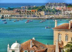 Cascais Bay - Portugal * * * * * * * * * * * * * * * * * * * * * * * * * * *