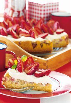 Juhannuksen raparperikakku | K-ruoka #juhannus #kakut