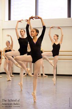 Advanced Girls Technique class- School of American Ballet City Ballet, Ballet Class, Ballet Dancers, Ballet School, Dance Class, Ballet Pictures, Dance Pictures, Royal Ballet, Dance Hip Hop