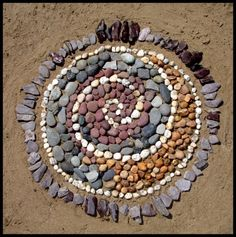 Spiral on the beach