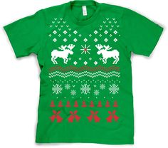i know someone who would LOVE this shirt... the girl who can't find a christmas sweater that will fit her properly.