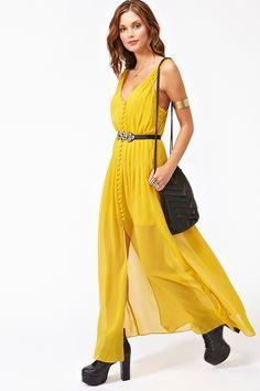 Landscape Maxi Dress