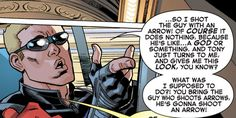 [From A+X #8, 2013.] He does got a point