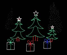 outdoor display lights merry christmas rope lights silhouette