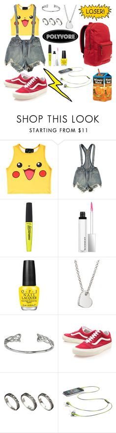 """#357"" by camiestev ❤ liked on Polyvore featuring O-Mighty, UNIF, Rimmel, Givenchy, OPI, Coach, Vans, ASOS and Herschel"