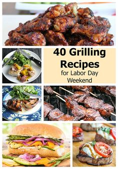 40 Grilling Recipes