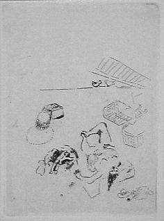 Marc Chagall (French, Vitebsk 1887–1985 Saint-Paul-de-Vence)   Maternity