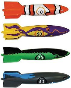 #Toypedo bandits by swimways, #swimming pool game and #diving game,  View more on the LINK: http://www.zeppy.io/product/gb/2/320965011506/