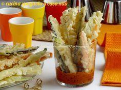 Tempura di verdure miste accompagnata da una salsa catalana: quando il Giappone incontra la Spagna. Consigli per fare una tempura perfetta.