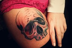 Skull tattoo. #tattoo #tattoos #ink