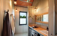 THE SHED, Gerroa - checkout on Sundays/Public Holidays Holiday House Gerroa South Coast Liveable Shed Ideas, Livable Sheds, Home Renovation, Home Remodeling, Rustic Shed, Shed House Plans, Shed Homes, Kit Homes, Loft
