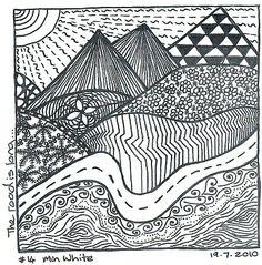 Zentangle Pattern Gallery   Zentangle and Henna - Manali Henna