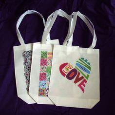 Tote Bags - design copyright of Kathryn S. Allen www.ksallen.co.uk