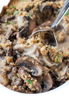 I love a good recipe shortcut, and this delicious Stuffed Mushroom Casserole transforms my family's favorite appetizer into a super easy casserole!
