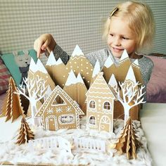 Christmas Crafts, Christmas Decorations, Xmas, Paper Crafts, Diy Crafts, Merry And Bright, Tis The Season, Gingerbread, Seasons