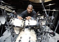 "John Blackwell Jr. My first influence on drums. Saw you at GC flipping sticks and hitting that China behind your head. My exact thought was ""now I finally understand. If you can dream it, it can be done."" Check this guy out. Amazing backbeat."