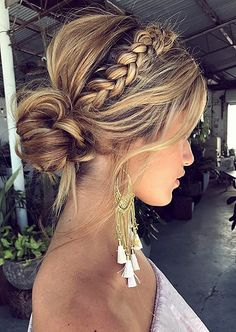 ♥️ Pinterest: DEBORAHPRAHA ♥️ braid hair style