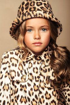 ALALOSHA: VOGUE ENFANTS: Child model Kristina Pimenova (Russia)