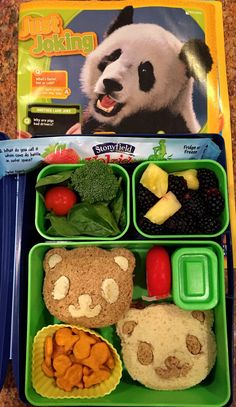 Nat Geo Kids Panda lunch