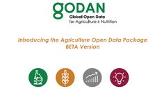 Introducing the Agricultural Open Data Package BETA Version - International Open Data Charter