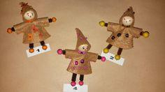 Un trio marron digne du début de l'automne