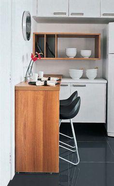 Ideias simples para #cozinhaspequenas no #Simplesdecoracao