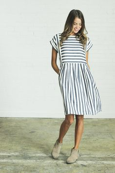 love the stripes, the fit, and basically everything about this dress.