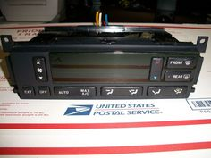 99 - 02 #LINCOLN #CONTINENTAL DIGITAL HEATER A/C CLIMATE CONTROL #XF3H-19C933-AC