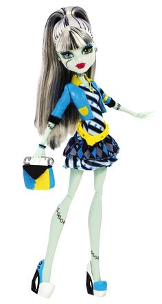 Monster High Frankie Stein Doll Picture Day NEW Mattel Includes Fearbook Monster High Boys, Monster High Pictures, Monster High School, Monster High Birthday, Monster High Party, Ninja Turtle Birthday, Love Monster, Monster High Custom, Monster Dolls